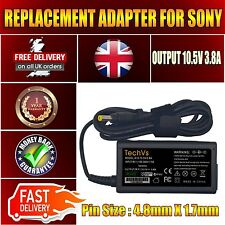 Genuine New TechVs adapter For SONY VGP-10V10 PRO13/11 DUO13 10.5V 3.8A PSU 40W