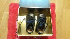 Schuhe Halbschuhe Pom D'Api Leder dunkelblau Gr. 19 Wie Neu