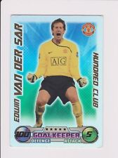 Match Attax  100 CLUB EDWIN VAN DER SAR.MINT.LOT.3