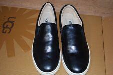 UGG Fierce Black Leather Sneaker US 9.5 Women 1015461