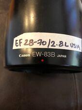 Canon Lens Hood ET-83B. from JAPAN