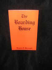 Signed book The Boarding House Author Virginia J. Marangell New Haven Ct 1930's
