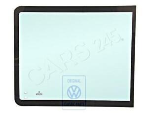 Genuine Volkswagen Sliding Window Glass NOS VW Eurovan Transporter 703845303C