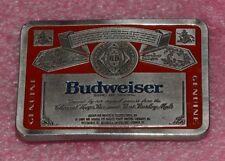 Vintage Budweiser Belt Buckle.