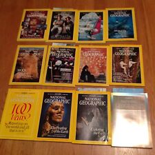 1988 National Geographic Magazine Complete Year 12 Issues