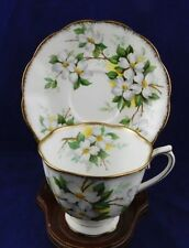 Royal Albert white dogwood tea cup and saucer