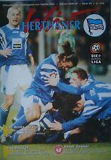 Programm 1996/97 Hertha BSC Berlin - Fortuna Köln