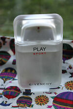 Play Sport Givenchy 3.3 OZ 100 ML EAU DE TOILETTE EDT 95% FULL