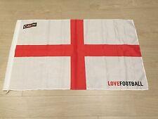 ENGLAND FOOTBALL FLAG LOVE FOOTBALL CARLING ENGLISH FLAG UK ST GEORGE CROSS BRIT