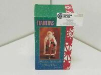 """Traditions Santa Claus Porcelain Collectible Christmas Hand Painted 8"""" - A564"""