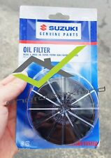 SUZUKI BURGMAN 650 (ALL) ORIGINAL SUZUKI ENGINE OIL FILTER 2PCS