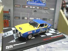 FORD Capri RS 2600 MKI Rallye Wiesbaden 1971 #31 Röhrl DRM IXO Altaya 1:43