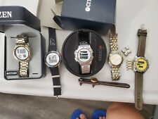 Citizen Promaster and regular LCD Quartz  Men's Watch Collection.