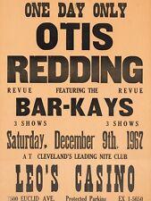 """OTIS REDDING LEOS CASINO 16"""" x 12"""" Reproduction Concert Poster Photo"""
