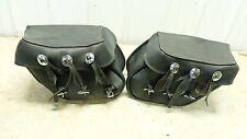 99 Kawasaki EN 500 EN500 C Vulcan saddlebags saddle bags right left set