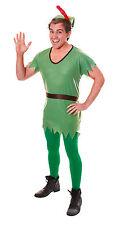 Adult Robin Hood or Elf Unisex Fancy Dress Costume for Men Women Party Costume