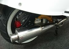 Royal Alloy GT 125i & Scomadi TL 125i Stainless Tuned Exhaust