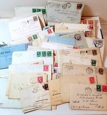 1920s old correspondence letters huge lot (85), doctor, Canada, Detroit, covers