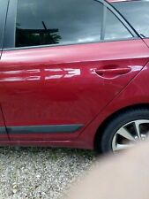 hyundai i 20 2017 pass side rear  door complete
