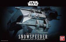 BANDAI STAR WARS MODELO KIT snowspeeder MAQUETA 1/48 NUEVA PARA MONTAR