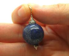 Gran Colgante Lapis Lazuli. 20MM. Plata 1ª Ley .925 Nuevo.