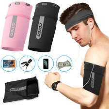 Armband Phone Holder Bag Sleeve Sport Exercise Arm Band Pouch For iPhone Samsung