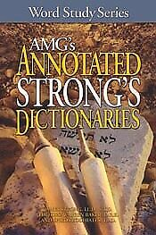 AMG's Annotated Strong's Dictionaries .. NEW