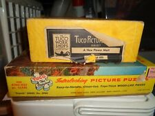 Vintage Jigsaw Puzzle Lot =2  #CC Tuco New Flower Mart Superb Fall Foliage