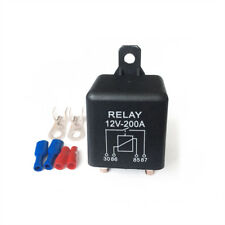 120A Split Charge Relay Heavy Duty ON OFF Relay + Parts Ideal for 12V Car Truck