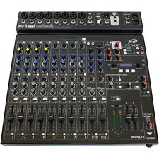 Peavey PV 14 BT Stereo 8-Channel Recording Mixer Bluetooth Wireless Connectivity