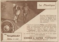 Y7168 Appareil VOigtlander HELIAR - Pubblicità d'epoca - 1930 Old advertising