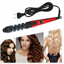Hair Curling Iron Curler Roller Wand Ceramic Electric Curl Styling Wave Spiral!