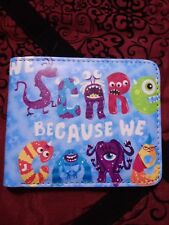 Wallet monsters inc monsters University USA seller fast free shipping