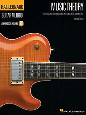 HAL LEONARD GUITAR METHOD MUSIC THEORY GTR Book/CD by Various Paperback Book