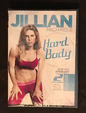 NEW! Jillian Michaels Hard Body  Sealed DVD ~ Free & Fast Shipping
