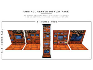 Control Center 1/12 Scale Display Pack BY EXTREME-SETS INC new