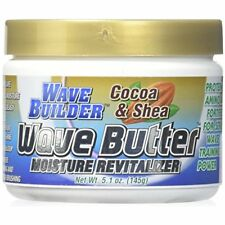 Wavebuilder Moisture Wave Butter Pomade Cocao & Shea Shine Hair Men Women 4.8 Oz