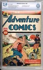 Adventure Comics # 49  Early Sandman story !  CBCS 2.0 rare Golden Age book !