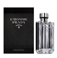 L'Homme Prada Milano By Prada Eau de Toilette For Men 150ML 5.1oz NEW IN BOX