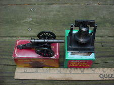 70s 80s 90s maybe new CANNON & LIBERTY BELL DIE CAST PENCIL SHARPENERS