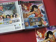 PS3/Sony Playstation 3-One Piece Pirate Warriors-Game Box + manuel uniquement