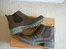 EARTH SPIRIT BROWN BARK MESA LADIES LEATHER ANKLE BOOTS. UK 5, EUR 38, US 7 BNIB