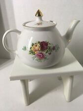 Vintage Gibson Made in England Tea Pot Country Rose Design