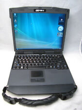 General Dynamics GoBook VR-2 VR2 Rugged Laptop 2.0Ghz 2GB 80GB GPS COM PORT-READ