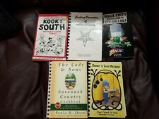 Lot Of 5 Cookbooks Louisiana New Orleans South Paula Deen ETC