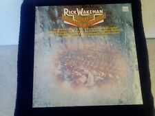 RICK WAKEMAN.JOURNEY TO CENTRE EARTH.A&MRECORDS. AMLH 63621.LIVE RECORDING. 1974