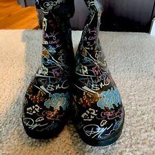 Women's Vintage Rubber Boots Size 10