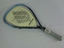 "Ektelon Dynax Racquetball racquet Aqua Blue and Black Sz X-Small 4"" grip"