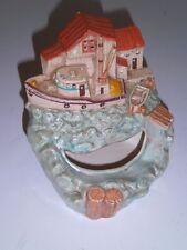 Nightlight Nautical Ceramic Tampa Bay Mold Co Larry Thrun Sea Shanty Beach Shore