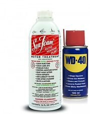 SEA FOAM Motor Treatment Diesel Petrol Engine Injector Cleaner + WD40 100ml